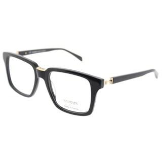 Balmain Square BL 3061 C01 Unisex Black Frame Eyeglasses