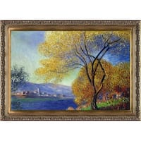 Claude Monet 'Antibes, View of Salis' Hand Painted Oil Reproduction