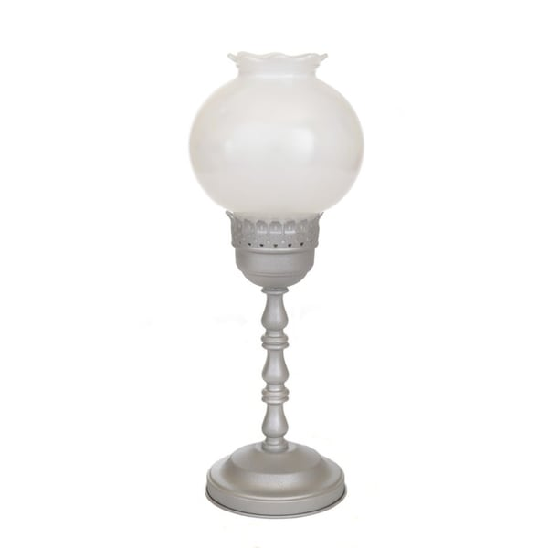 Summit Lamp 1-light Satin Nickel 'Candlestick' Accent Lamp