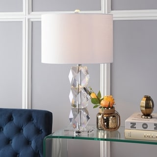 "Sofia 26"" Crystal Table Lamp, Clear by JONATHAN  Y"