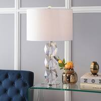 "Sofia 26"" Crystal LED Table Lamp, Clear by JONATHAN  Y"
