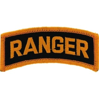 US Army Ranger Tab Patch 3 Inches