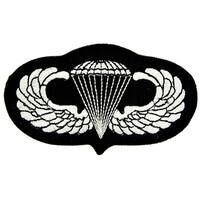 US Army Paratrooper Wings Patch 4-1/8 Inches