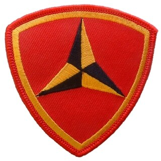 USMC 03RD Division 3 Inch Patch