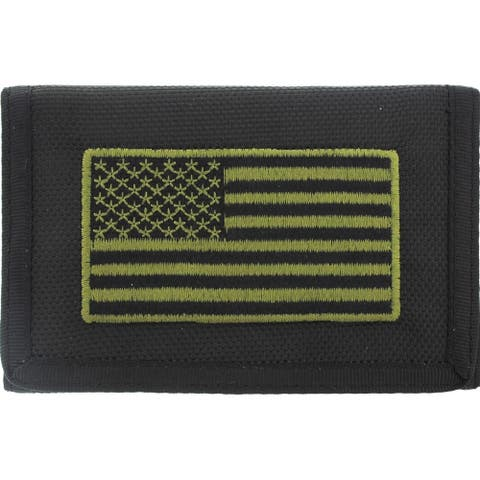 USA Flag Patriotic Wallet