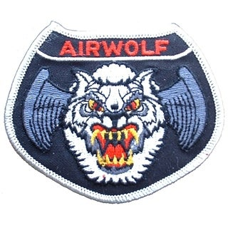 US Air Force Airwolf Patch 3-1/2 Inches