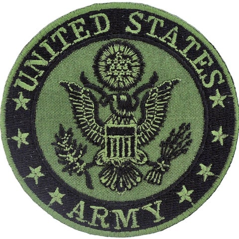 US Army Symbol Subdued 3 Inch Patch
