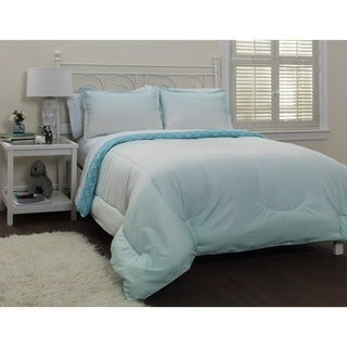 Pop Shop Ombre Cool 7-piece Bed In A Bag with Sheet Set (As Is Item)