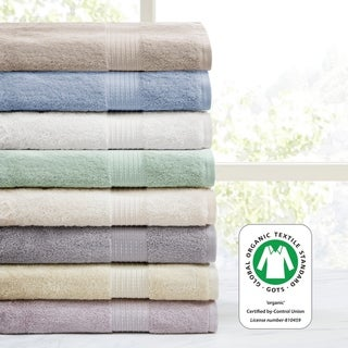 Madison Park Organic 6 Piece Cotton Towel Set