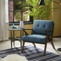 Ink+Ivy Rocket Blue/ Pecan Lounge