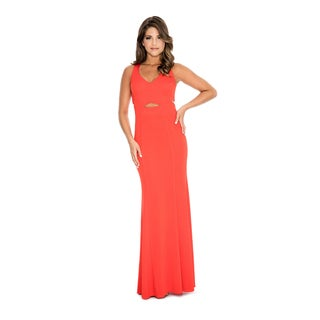 Decode 1.8 Women's Fitted V-neck Evening Dress (More options available)