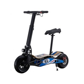 MotoTec Mini Mad 36v 800w Lithium Electric Scooter Blue