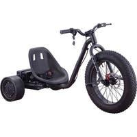 MotoTec Drifter 36v 900w Trike Black