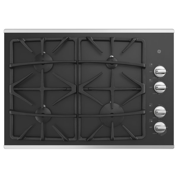"GE 30"" Built-In Gas Cooktop"