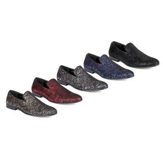 Miko Lotti Men's Slip-on Smoking Loafers (Option: Grey)|https://ak1.ostkcdn.com/images/products/18111333/P24267013.jpg?_ostk_perf_=percv&impolicy=medium