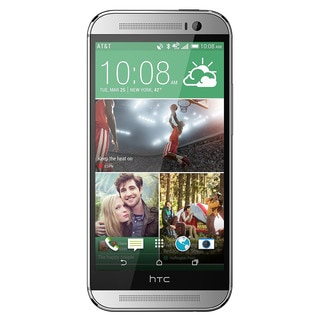 HTC One M8 32GB Unlocked GSM LTE Quad-Core Android Phone w/ Gorilla Glass 3 - Silver (Certified Refurbished)