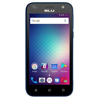 BLU Studio G Mini S210Q Unlocked GSM Android Phone - Blue