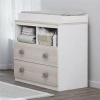 Novogratz Prism White Changing Table