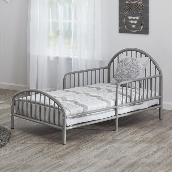shop novogratz prism metal toddler bed free shipping today 18111507. Black Bedroom Furniture Sets. Home Design Ideas