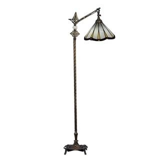 Dale Tiffany Select 58 In. H Joaquin Directional Downbridge Floor Lamp