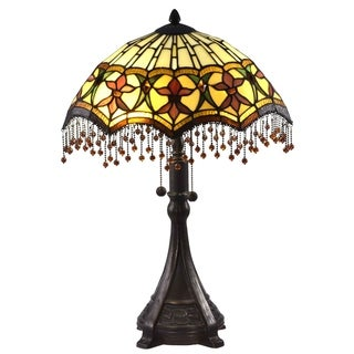 Dale Tiffany Select 23.5 In. H Marquette Table Lamp