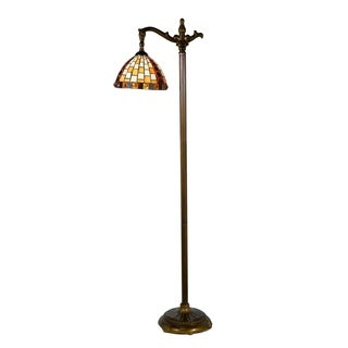 Dale Tiffany Select 60 In. H Graham Directional Downbridge Floor Lamp