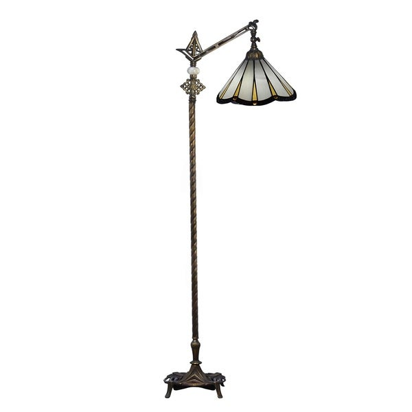 Dale Tiffany Select 63.5 In. H Slade Directional Downbridge Floor Lamp