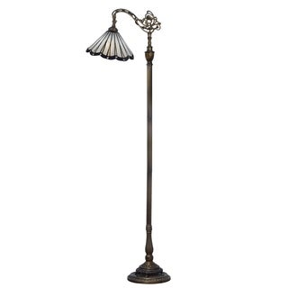 Dale Tiffany Select 63.5 In. H Slade Directional Downbridge Floor Lamp
