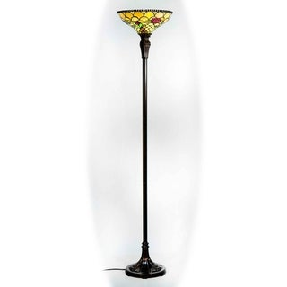 Dale Tiffany Select 69 In. H Huntley Torchiere Floor Lamp