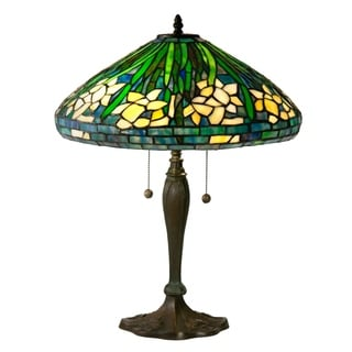 Dale Tiffany Select 23 In. H Daffodil Table Lamp