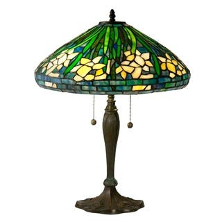 Dale Tiffany Select 23 In. H Daffodil Table Lamp|https://ak1.ostkcdn.com/images/products/18111584/P24267161.jpg?impolicy=medium