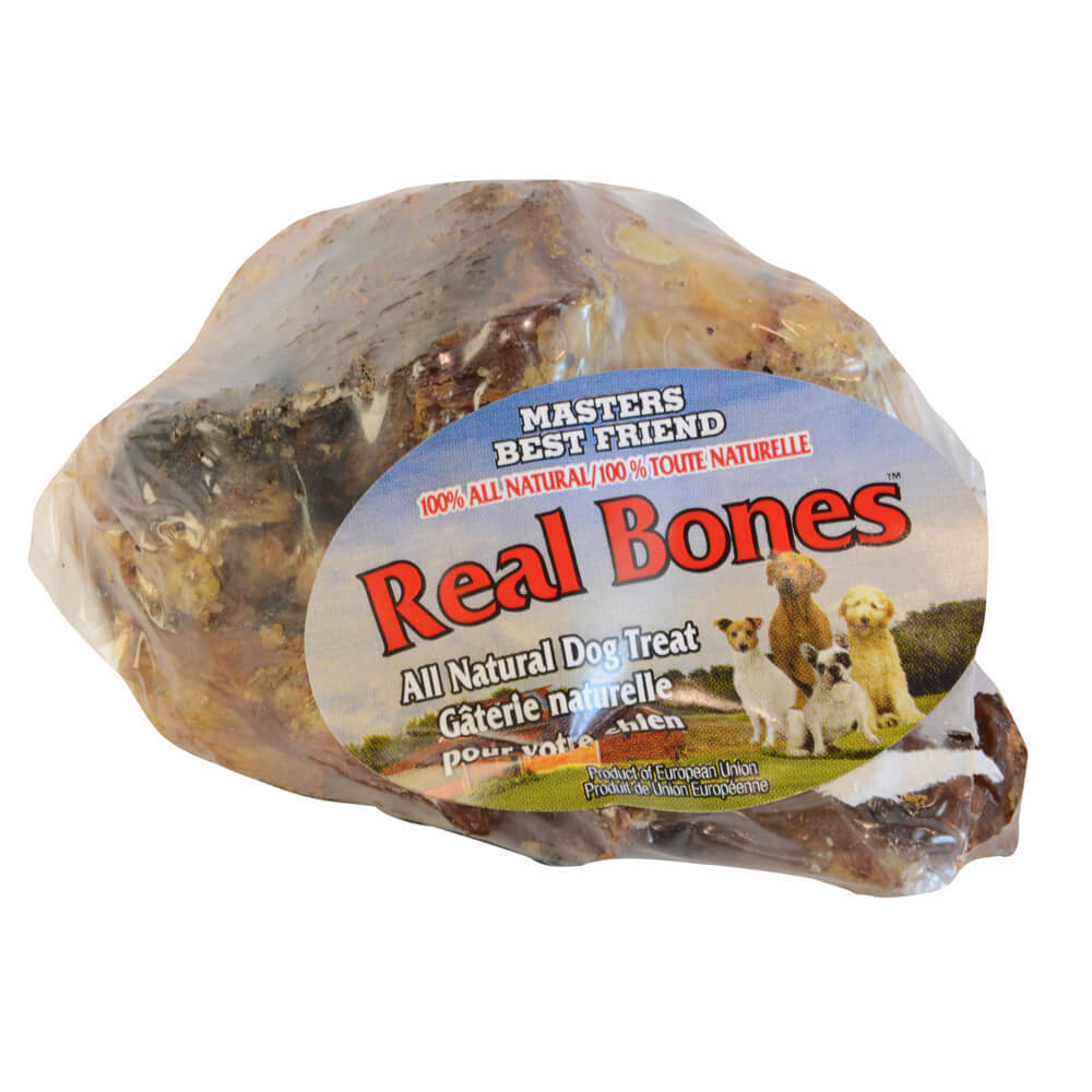 All Natural Large Beef Knuckle Dog Bone (Ivory) Treat (Do...