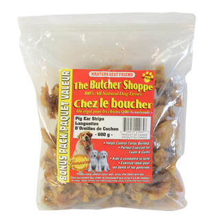 Pig Ear Strips Dog Treats