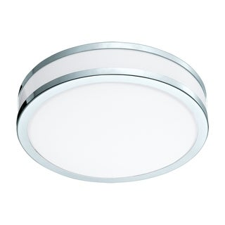 Eglo LED Palermo Ceiling Light With Chrome and White Finish