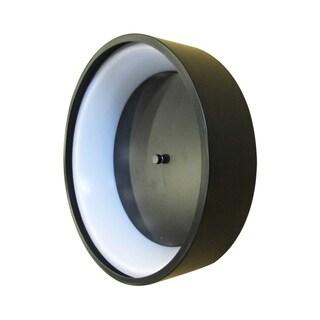 Eglo Marghera 1 LED Ceiling Light With Matte Black Finish