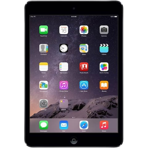 Apple iPad Mini, 16GB, Wi-Fi, Black, REFURBISHED