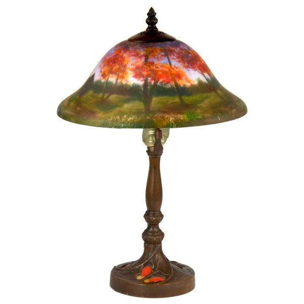 Springdale 16.5 In. H Vastia Hand Painted Table Lamp