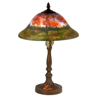 Dale Tiffany Select 16.5 In. H Vastia Hand Painted Table Lamp