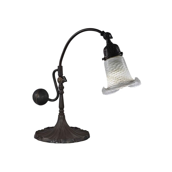 Dale Tiffany Select 14 In. H Eggshell Directional Accent Lamp