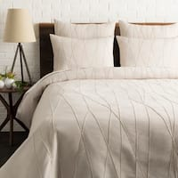 Akulina Cream Modern Duvet Cover Set