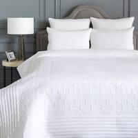 Carolyn Crisp White Quilt Set