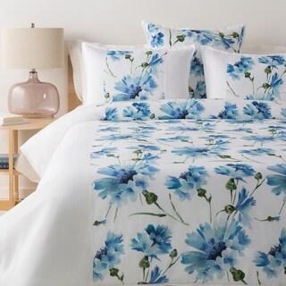 Aquaflora Blue Modern Duvet Cover Set