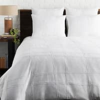Lesleigh White Modern Duvet Cover Set