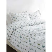 Printed Design Cotton Collection 400 Thread Count Sprigs Duvet Set