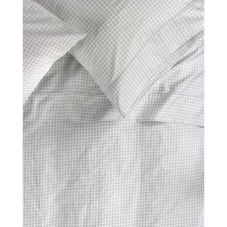Printed Design Cotton Collection 400 Thread Count Grey Houndstooth Sheet Set