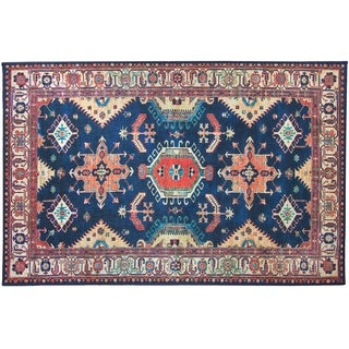 RUGGABLE 2-pc Washable Rug System Noor Sapphire 3 x 5'