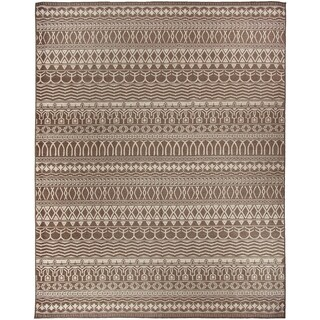 RUGGABLE 2-pc Washable Rug System Cadiz Espresso (8 x 10')