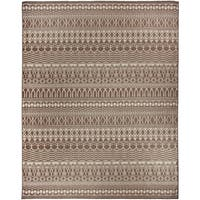 Ruggable Washable Indoor/ Outdoor Stain Resistant Pet Area Rug Cadiz Espresso (8' x 10') - 8' x 10'