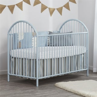 La Baby Compact Folding Metal Crib Free Shipping Today