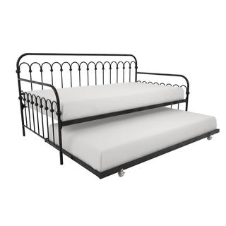 Novogratz Bright Pop Metal Daybed and Trundle